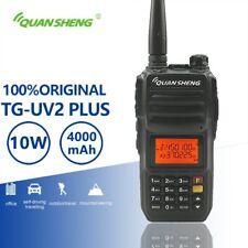 QuanSheng TG-UV2 Plus 10W Talkie Walkie 4000mAh Vhf Uhf Dual Band Two Way Radio