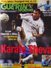 Guerin Sportivo n°51 2002 Shevchenko - Stefano Fiore  con film campionato [GS48]