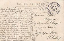 Genealogy Postcard - Family History - Regereau - Niogentsur - Seine Clube BH1649