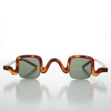 Edwardian Square Spectacle Steampunk Vintage Sunglasses Matte Tortoise- Cabot