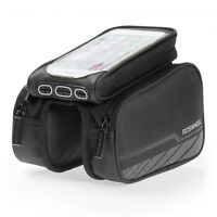Roswheel Bike Bicycle Cycling Phone Frame Front Tube Pannier Saddle Bag Pouch