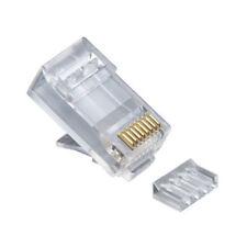 Platinum Tools 106188J Standard Cat 6 2 Piece RJ45 Connector 100 Pcs. Jar