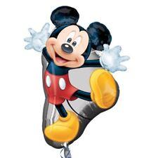 78.7cm Disney Joyeux MICKEY MOUSE PERSONNAGE fête feuille super forme ballon