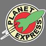Futurama Planet Express Logo Vinyl Sticker Car Truck Window Decal JDM USMD Wall