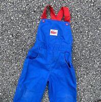 Vintage 90s Izod Lacoste Boys Color Block Overalls Size 3T