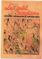 Carte Postale Tintin Le Petit Vingtième n°14 JUIN 1938. SCEPTRE D'OTTOKAR