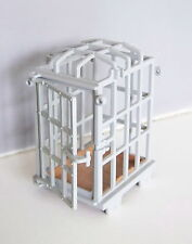PLAYMOBIL (M110) VIKINGS - Cage Prisonnier Barbare Tour 4433 & Chevaliers 3674