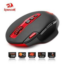 Redragon USB Wireless Gaming Mouse 7200DPI 10 buttons ergonomic