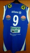 basketball jersey Allianz Swans Gmunden spalding 3xl blue matcworn