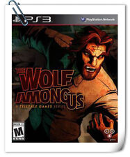 PS3 THE WOLF AMONG US SONY PlayStation Telltale Games Action
