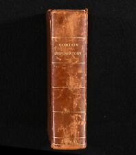1682 Pharmacopoeia Londinensis or the New London Dispensary Second Ed W Salmon