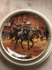 Heroes of the Confederacy - 8 Commemorative Collector Plates by Mort Kunstler