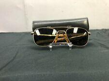 1960's American Optical Usaf Aviator Sun Glasses 12k Gf 5 1/2