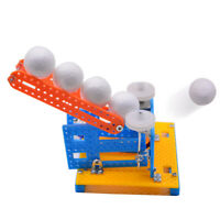 DIY Automatic Ball Pitching Machine Toys School Education Science Project Model