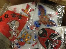 5 x 10 Drachen Drachenkette Kinderdrachen Einleiner Eddy Kette Flugdrachen Kind