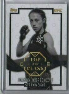 JOANNA JEDRZEJCZYK 2016 Topps UFC Top of the Class Base