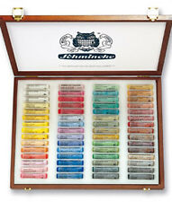 Schmincke Soft Pastel Set - 60 Colours - Wooden Presentation Box Set