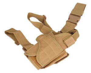 Tactical Waterproof Adjustable Pistol/ Gun Drop Puttee Leg Holster Pouch Holder