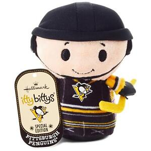 Hallmark Itty Bittys NHL Pittsburgh Penguins Special Ed Hockey Plush Bitty NWT