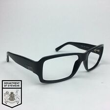 GUESS eyeglasses BLACK RECTANGLE WRAP AROUND frame MOD: GU 6342