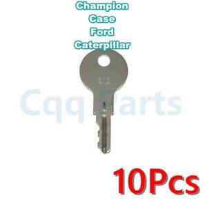 10pcs 312 keyFitsChampionCrownsomeCaseFordCatandLink-beltModels 68095