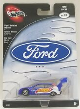 100% Hot Wheels Ford Series Ford Focus No 1/4