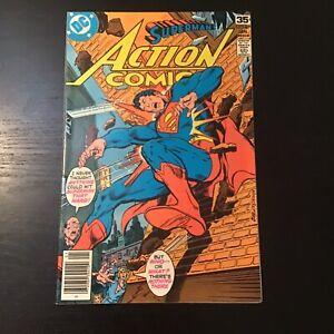 Action Comics #479 DC Comics Bronze Age SUPERMAN vg/f