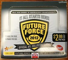 2012 Select AFL Future Force full base common set + album, mint condition