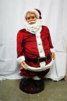 """Gemmy Santa Clause Christmas 50""""+ (QW)"""