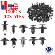 100pcs Bumper Fender Screw Rivet Fastener Clip For Volkswagen Polo Tiguan CC GTI