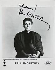 BEATLES - Paul McCartney Signed Photograph - Musician / Singer - preprint