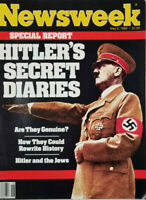 Newsweek May 2 1983 Hitler's Secret Diaries Special Report - No Label - VG