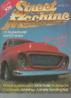 STREET MACHINE MAGAZINE  APRIL 1982 VOL.3 NO.12  MGB PROFILE  LS
