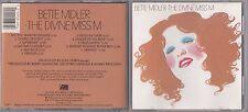 Bette Midler  - Divine Miss M (CD, Nov-1987, Atlantic (Label)) 7238-2