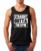 Tank Top Straight Outta The Gym T Shirt Muscle Workout T-Shirt Crossfit Training