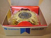 New-Old-Stock Shimano Dura-Ace 5-Speed Freewheel (16x21)...Gold Finish