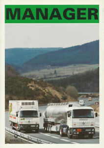 BROCHURE Renault Manager - Giugno 1994 - Italian