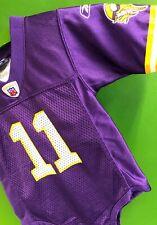 B507/100 NFL Minnesota Vikings Daunte Culpepper #11 Reebok Baby-Grow 12 months
