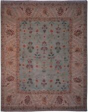 "Authentic  Wool 8' 0"" x 10' 0"" India Sultanabad Rug RNR-9512"