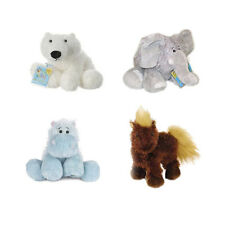 Webkinz - 4 x Animals Plush Set - Polar Bear Elephant Hippo Horse NEW