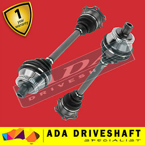 2 BRAND NEW CV JOINT DRIVE SHAFT Audi A4 01-08 (Pair)1
