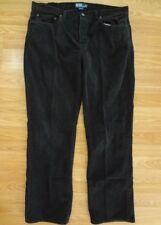 Polo Ralph Lauren Mens Jeans Corduroy 38x32 Black