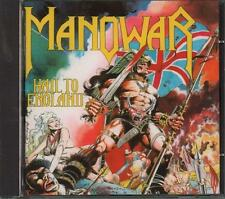 Manowar(CD Album)Hail To England-VG