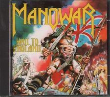 Manowar(CD Album)Hail To England-VG
