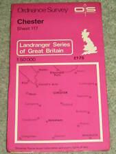 OS Ordnance Survey Landranger Map Sheet 117 Chester