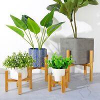 Wooden Plant Stand Indoor Outdoor Garden Planter Flower Pots Stand Shelf