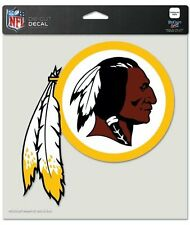 "Washington Redskins Decal 8x8 Color Color 8"" x 8"" Die Cut Decal Sticker USA SHIP"