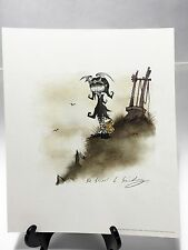 "GRIS GRIMLY - JILL - Official Van Eaton Galleries Signed Print - 2004 - 12""x10"""