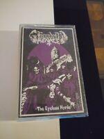 Ultra Rare Hooded Menace - The Eyeless Horde Heavy Metal doom cassette tape