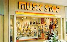 West Valley City Utah Music Stop store Valley Fair Mall vintage pc Y15185